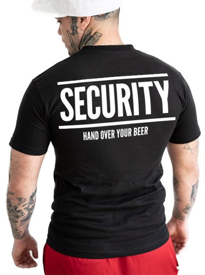 Men's Security Tee by Dirty Shirty