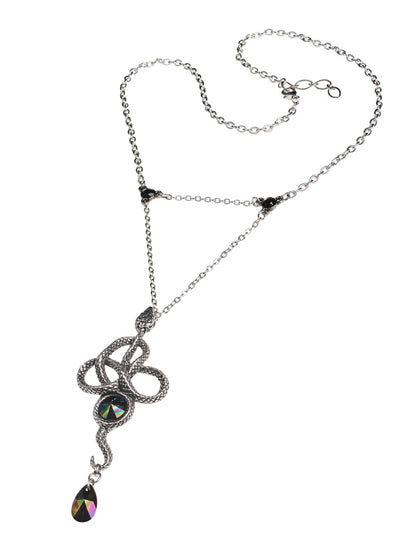 Tercia Serpent Necklace by Alchemy of England (Pewter)