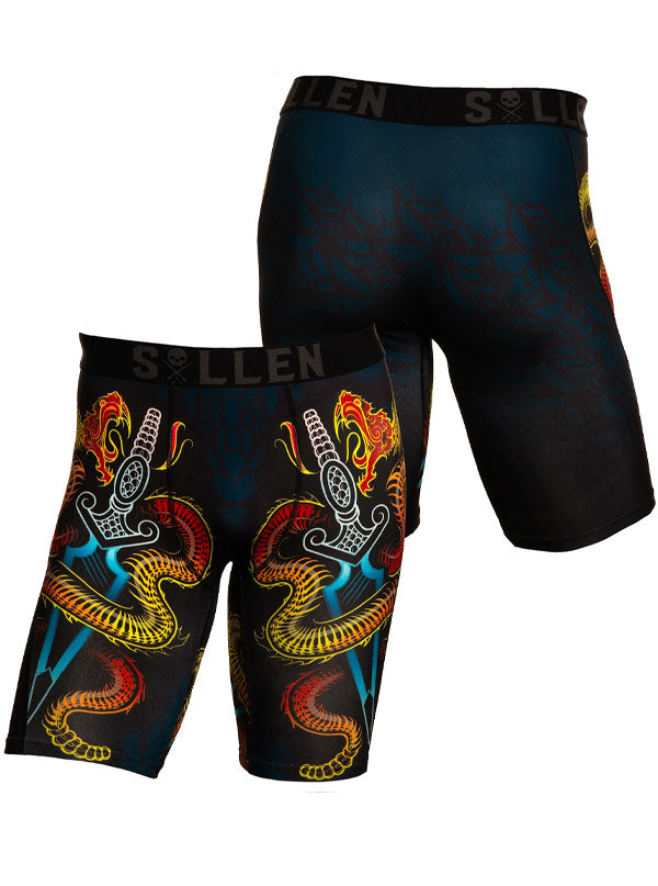 Men's Shake Snake Boxers by Sullen