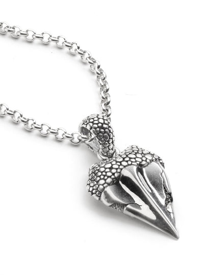Shark Tooth Necklace by Silver Phantom Jewelry