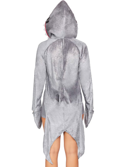 Women's Man-Eating Shark Costume by Leg Avenue