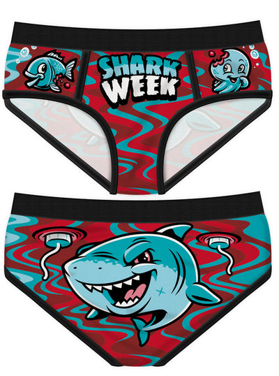 Women's Shark Week 2 Period Panties by Harebrained!