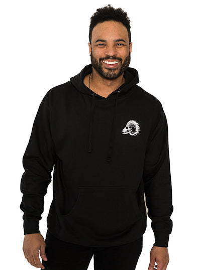 Men's Black Sheep II Hoodie by InkAddict