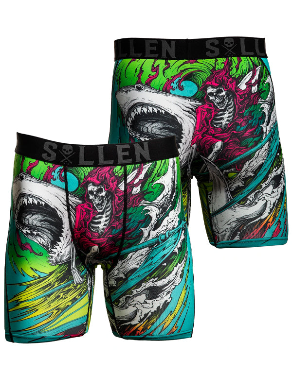 Men's Shredding Boxers by Sullen