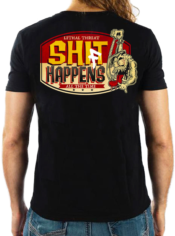 Men's Shift Happens Tee by Lethal Threat