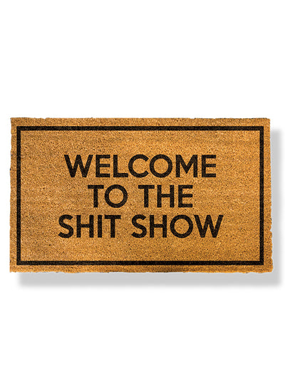 Welcome to the Shitshow Doormat by Funny Welcome