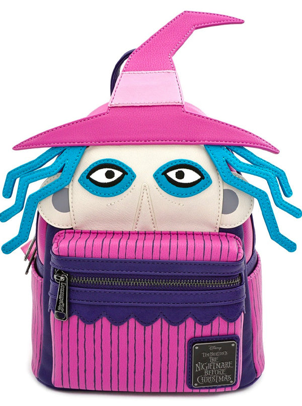 """Nightmare Before Christmas: Shock Cosplay"" Mini Backpack by Loungefly (Pink)"