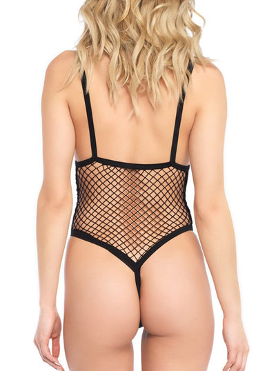 Women's Side Boob Teddy by Leg Avenue
