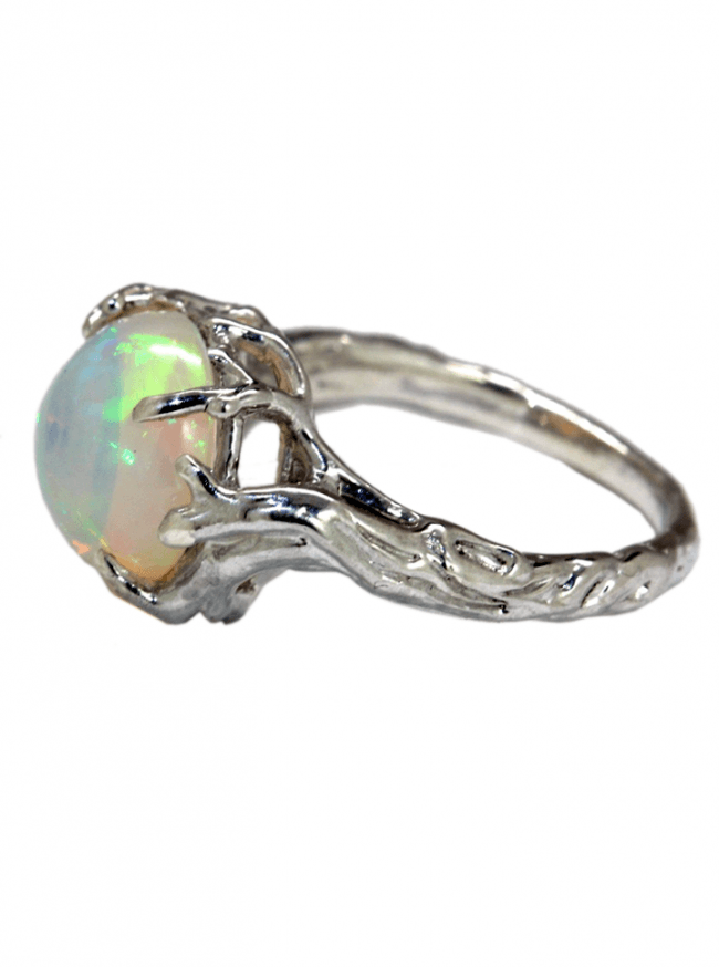 """Opal Tree"" Ring by Blue Bayer Design (Sterling Silver) - www.inkedshop.com"