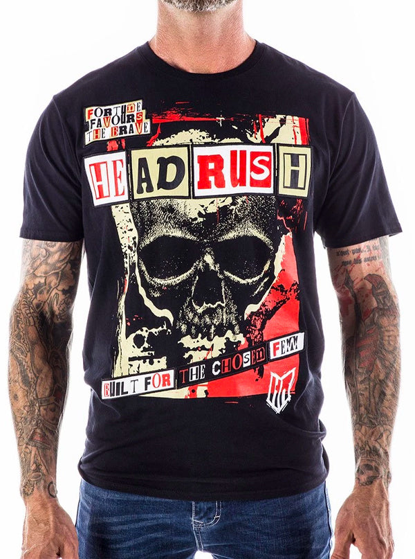 Men's Ain't Sin City Tee by Headrush Brand
