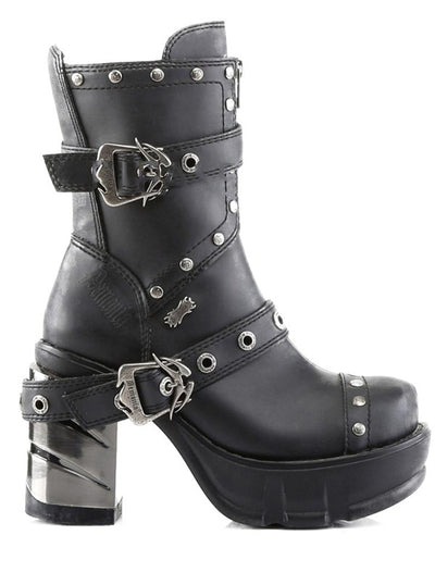 Women's Sinister 201 Vegan Boots by Demonia