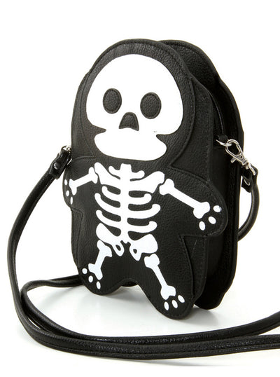 Skeleton Shoulder Bag