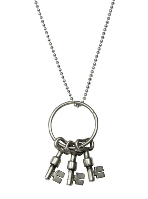 Skeleton Keys Necklace by Femme Metale