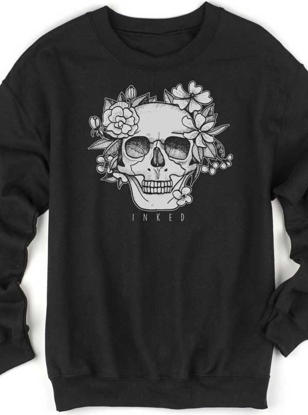 Unisex Until Forever Sweatshirt by Inked