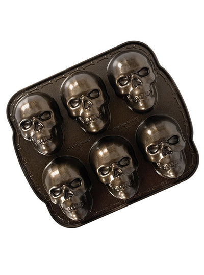"""Haunted Skull"" Cakelet Pan"