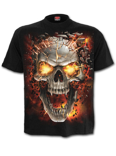 Men's Skull Blast Tee by Spiral USA