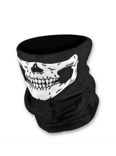 """Skull Face"" Motorcycle Mask (Black)"