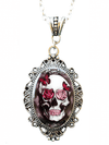 """Skull & Roses"" Cameo by Alkemie & Artistry - www.inkedshop.com"