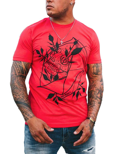 Men's Corzon Skull Tee by InkAddict