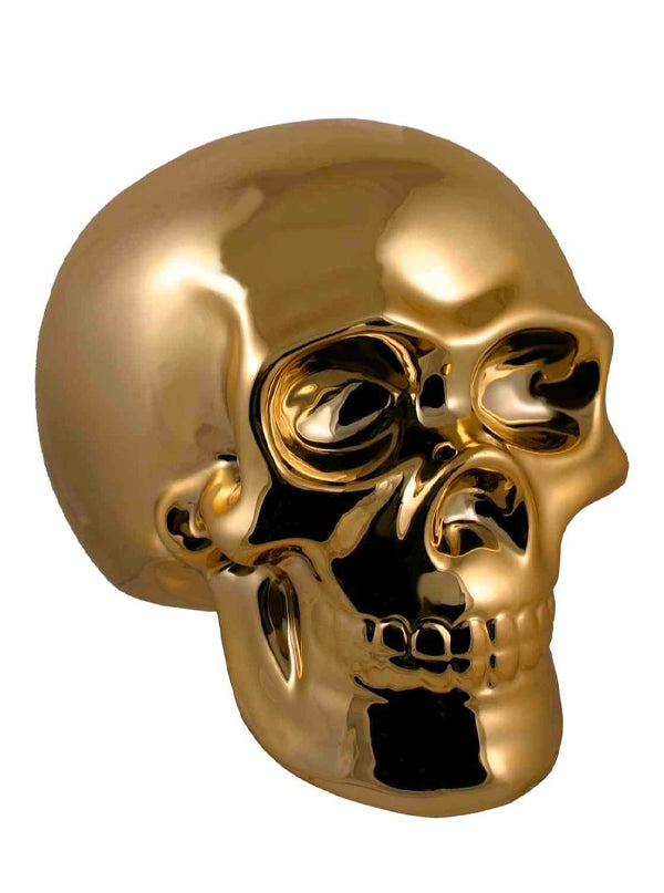 Golden Skull Money Bank
