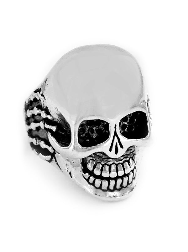 Skull Hands Ring by Gypsy Treasures