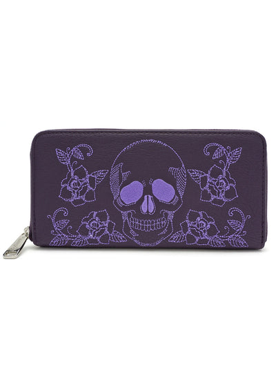 Skull/Roses Wallet by Loungefly