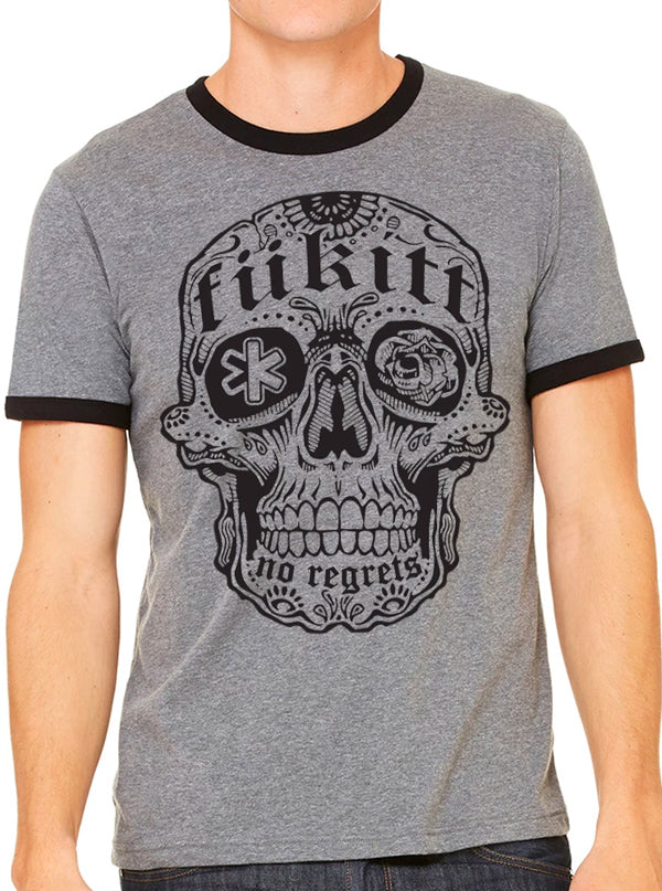 Men's Skully Tee by Fukitt Clothing