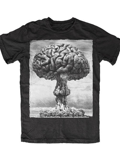"Men's ""Einstein"" Tee by Skygraphx (Black) - InkedShop - 1"