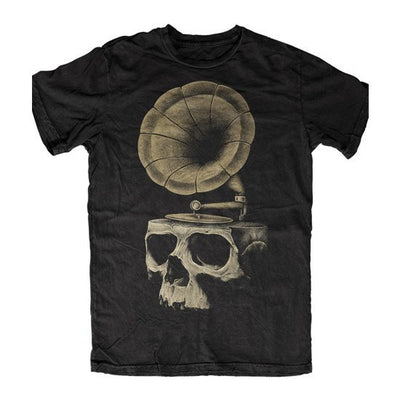 "Men's ""Songs of The Past"" Tee by Skygraphx (Black) - www.inkedshop.com"