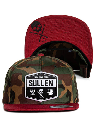 Slab Snapback Hat by Sullen