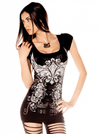 "Women's ""Slash It Up"" Tee by Folter Clothing (Black) - www.inkedshop.com"