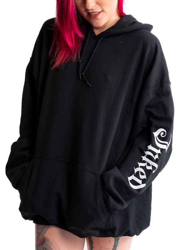 Men's Inked Sleeve Hoodie by Inked (Black)
