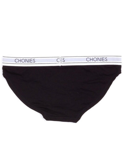 "Women's ""Slide To Unlock"" Classic Briefs by Chonies (Black) - www.inkedshop.com"