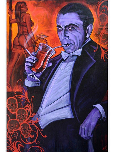 """Smarrmy Extraordinaire"" Print by Mike Bell for Lowbrow Art Company - www.inkedshop.com"