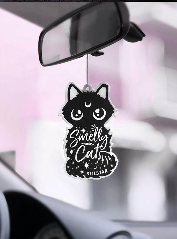 Smelly Cat Air Freshener by Killstar