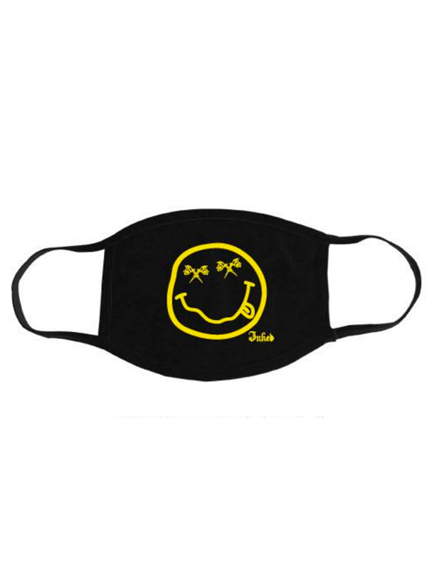 Smiley Face Mask by Inked