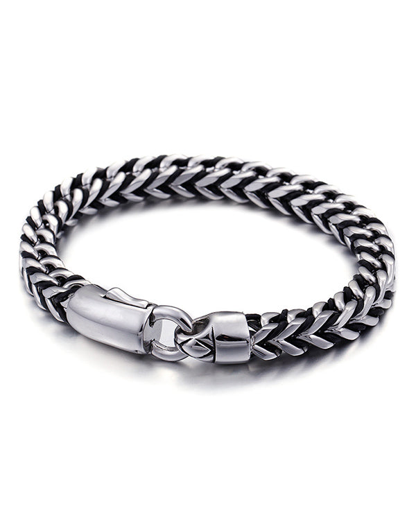 "Men's ""Snake Chain"" Bracelet (Stainless Steel)"