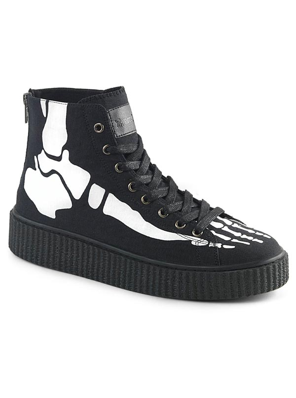 Unisex Sneeker-252 Creeper Sneaker by Demonia
