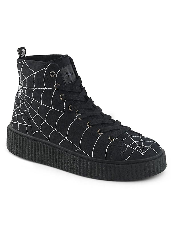 Unisex Sneeker-250 Creeper Sneaker by Demonia
