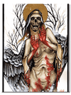 """Snow Angel"" Watercolor Print by Derek Noble for Mindzai Creative - www.inkedshop.com"
