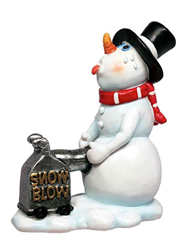 Bad Snowman Holiday Ornament