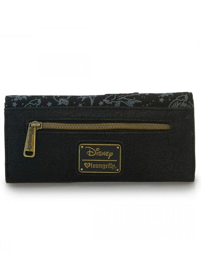 """Disney: Snow White Tattoo"" Wallet by Loungefly (Black)"