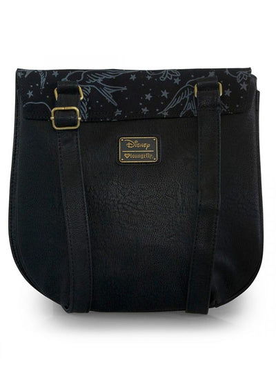 """Disney: Snow White Tattoo"" Crossbody Bag by Loungefly (Black)"