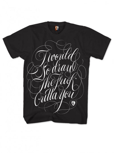 "Men's ""So Draw You"" Tee by OG Abel (Black) - www.inkedshop.com"