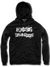 "Unisex ""Socially Unacceptable"" Hoodie by The T-Shirt Whore (Black)"
