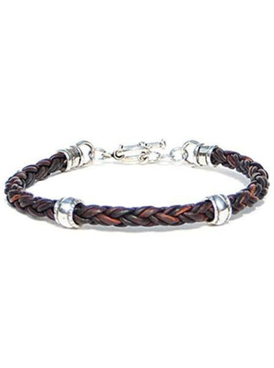 Solo Bracelet by Lucky Dog Leather - Black-Brown or Tan - InkedShop - 3