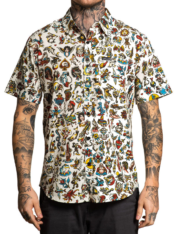 Men's Something For Everyone Button Up by Sullen