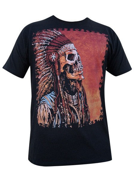 "Men's ""Spirit Of A Nation"" Tee by Lowbrow Art Company (Black) - www.inkedshop.com"