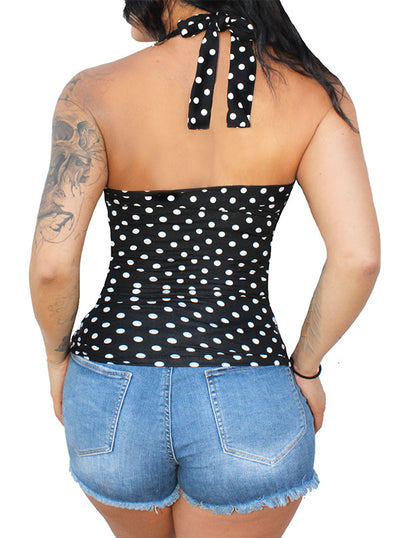 Women's Sookie Halter Pinup Top by Demi Loon
