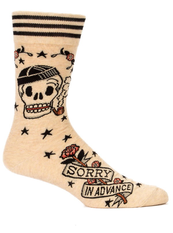Men's Sorry In Advance Crew Socks